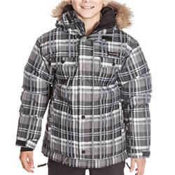 Quiksilver Boys Center Youth Snow Jacket - BlkChk product image
