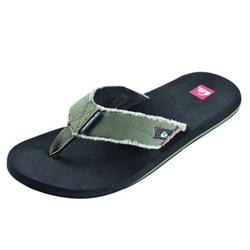 The Quiksilver Boys Little Abyss Flip Flops are available in Olive/Brown/Black. These Ultra Cool Quiksilver Flip Flops Feature:- Synthetic Upper Material Thong Straps 3/4 inch thick sole Quiksilver Branding on Straps - CLICK FOR MORE INFORMATION
