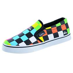 Foundation Slip On Shoes -Blk/Multi/Yel
