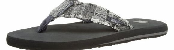 Mens Abyss M Thong Sandals EQYL100003 Grey/XSSK 45 EU/11 UK