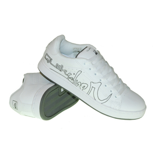 Mens Quiksilver Status Action Shoe. White