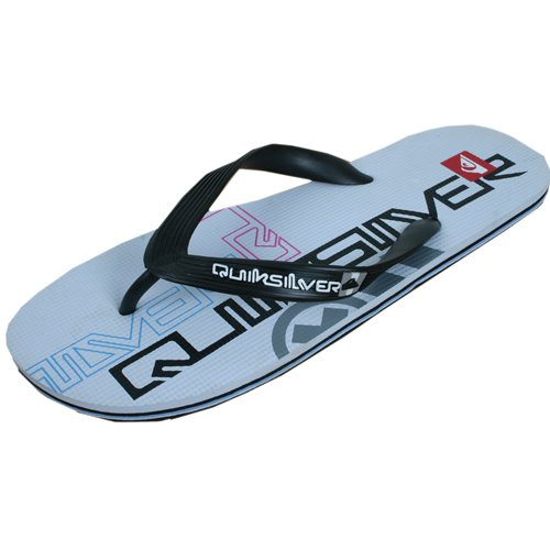 These Basic Quiksilver Flip flops Will See You through the Summer With Quiksilver Branding on the Non Slip Footbed and Soft Synthetic Rubber Strap. - CLICK FOR MORE INFORMATION