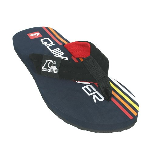Mens Quiksilver Retrolio Flip-Flop Navy