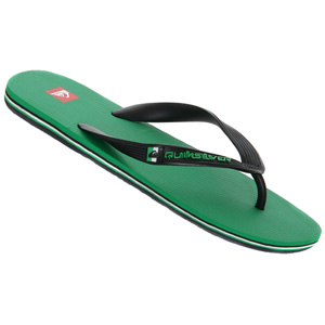 Molokai Sandal - Green/Black/Red