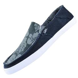 Oceanside Slip On Shoes - Blk/Wht/Gry