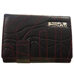 quiksilver Snap Leather Wallet - Black product image