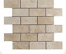 Travertine Mosaic (5x10cm)