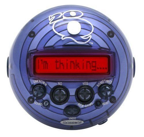 RADICA 20q electronic guessing game product image