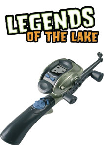 Radica legends of the lake handheld game electronic game for Electronic fishing game
