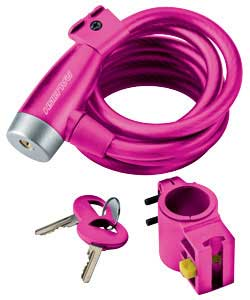 raleigh Pink Coil Lock product image