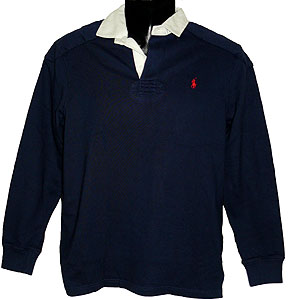 Rugby Shirts Polo Ralph Lauren Rugby Shirt Blue 3 Y