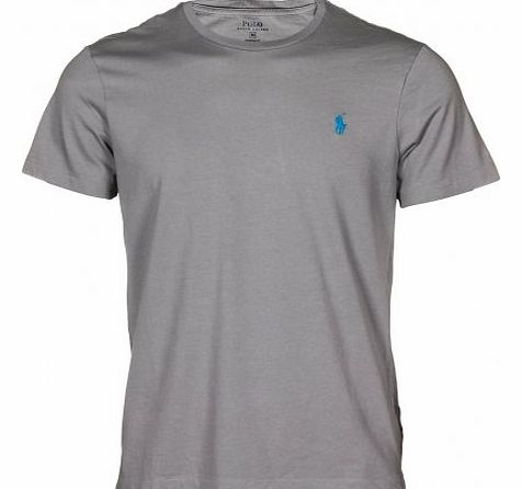 Polo ralph lauren custom fit jersey t shirt grey s for Polo custom fit t shirts
