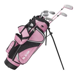 JUNIOR CONCEPT 3G GIRLS PACKAGE SET (GRAPHITE) RIGHT HAND / 5-8 YEARS
