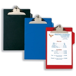 Clipboard PVC-finish Heavy-duty A4 Red