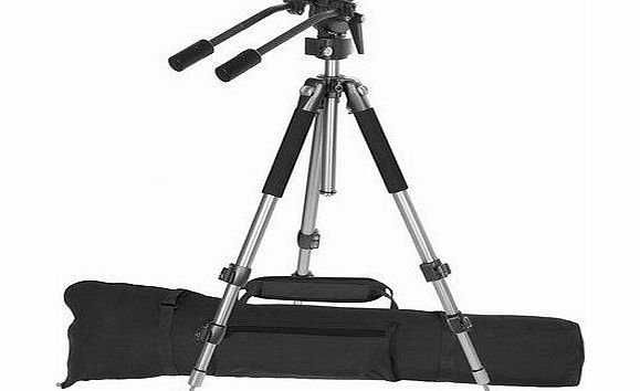 Ravelli AVT Professional 67-inch Video Camera Tripod with Fluid Drag Head