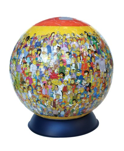 Ravensburger Puzzleball 240 Pieces Simpsons product image