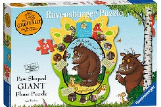 The Gruffalo Shaped Puzzle