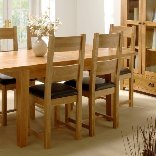 Reclaimed Oak Dining Set - Large 908.559 product image
