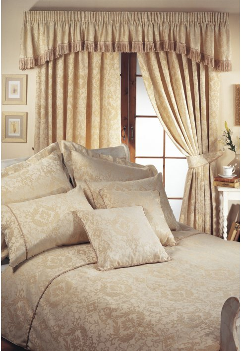 Florence Natural Lined Curtains