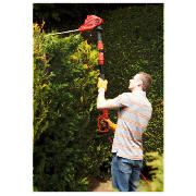 500W Electric Long Reach Hedge Trimmer