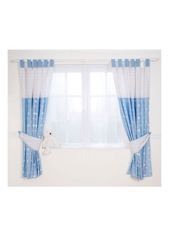Blue Curtains And Blinds