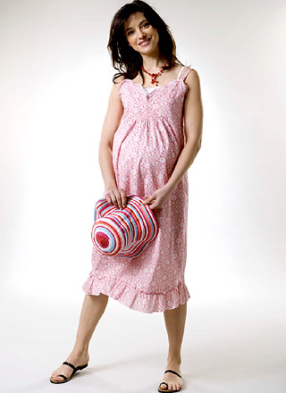 Red Print Sundress product image