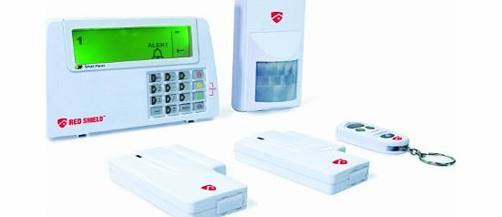 redshield Red Shield WS-100G2 Wirefree Burglar Alarm System