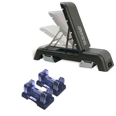 Marcy Transformer Dumbells (Reebok Deck   Marcy Transformers (pair)) - CLICK FOR MORE INFORMATION