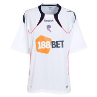 Bolton Wanderers Home Replica Shirt 2010/11 with - CLICK FOR MORE INFORMATION