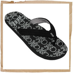 Reef Ahi Jnr Flip Flop  Synthetic Strap with Soft Polyester Lining For Comfort  Contoured EVA Footbe - CLICK FOR MORE INFORMATION