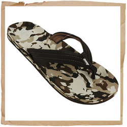 Reef Ahi Jnr Flip Flop Synthetic Strap with Soft Polyester Lining For Comfort Contoured EVA Footbed  - CLICK FOR MORE INFORMATION