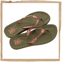 Cosmo Flip Flop Olive