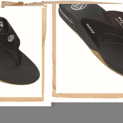 Reef Fanning Flip Flop  Water Friendly Suynthetic Nubuck Upper  Contoured CMEVA Footbed  Full 360 De - CLICK FOR MORE INFORMATION