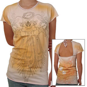 Reef Ladies La Rosa Tee shirt