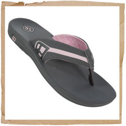 Reef Lucia Flip Flop  Sporty Synthetic Upper  - CLICK FOR MORE INFORMATION