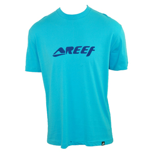 Reef Mens Mens Reef Speed Adventure T-Shirt. Sky product image