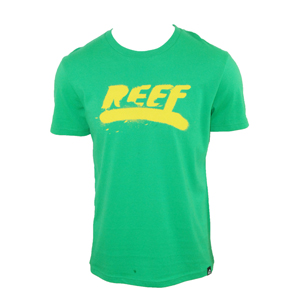 Reef Mens Mens Reef Spray Log T-Shirt. Green product image