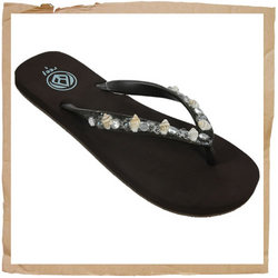 Reef Palm Beach Flip Flop  Soft Jelly Strap with Shells  - CLICK FOR MORE INFORMATION