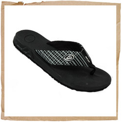 Reef Phantoms Plaid Flip Flop Water Friendly Suynthetic Nubuck Upper Contoured CMEVA Footbed Full 360 Degree Heel Air Pocket Durable High Density EVA Outsole Reef Branding - CLICK FOR MORE INFORMATION