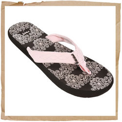 Reef Seaside Flip Flop  Synthetic Strap with Polyester Woven Liner  Contoured Soft EVA Foot Bed   Re - CLICK FOR MORE INFORMATION