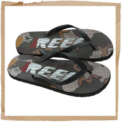Reef Trinidad Exodus Flip Flop Classic water friendly upper with integrated Reef logos  Anchored str - CLICK FOR MORE INFORMATION