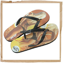 Reef Trinidad Flip Flop  New Water Friendly Upper  Low Profile Sandal Body Construction for Comfort  - CLICK FOR MORE INFORMATION