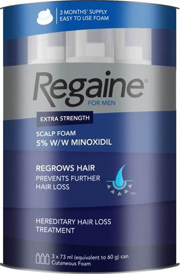 Regaine, 2102[^]0068979 Foam For Men 3 Month Supply