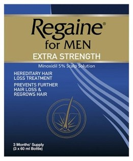 for Men Extra Strength Scalp Solution -