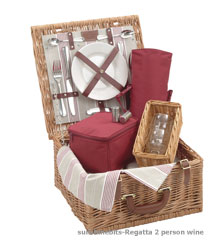 Wine Lovers Picnic Basket-Wine Lover 4