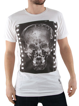 Religion White Xray Skull T-Shirt product image