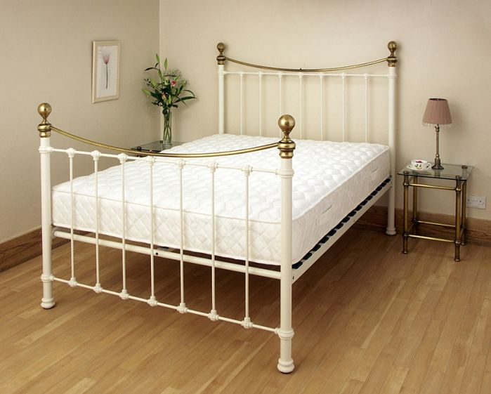 Ambassador Cream Bedstead The Ambassador bedstead features the usual Relyon characteristics of fine  - CLICK FOR MORE INFORMATION
