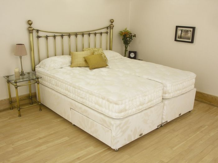 Relyon beds chesterfield 5ft kingsize divan bed review for 5 foot divan beds