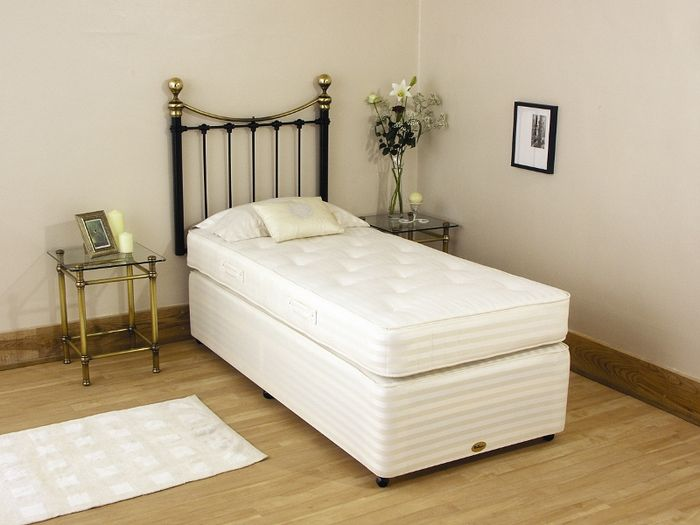 Newlyn Backcare 3ft Single Divan Bed
