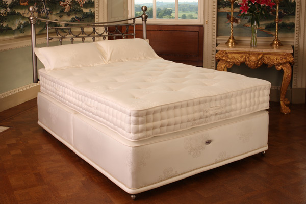 Pocketed Latex Supreme Divan Bed Single 90cm